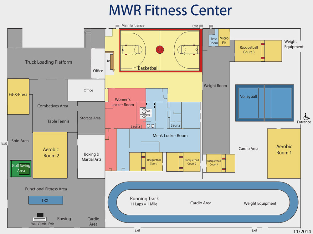 Fitness Center at the Defense Supply Center Columbus on unique columbus map, defense supply center columbus map, sterling heights mi map, ohio state university columbus map, columbus area map, warren michigan map, downtown columbus map,