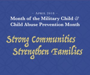 Month of the Military Child 2018