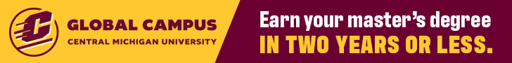 Banner Ad for Central Michigan University