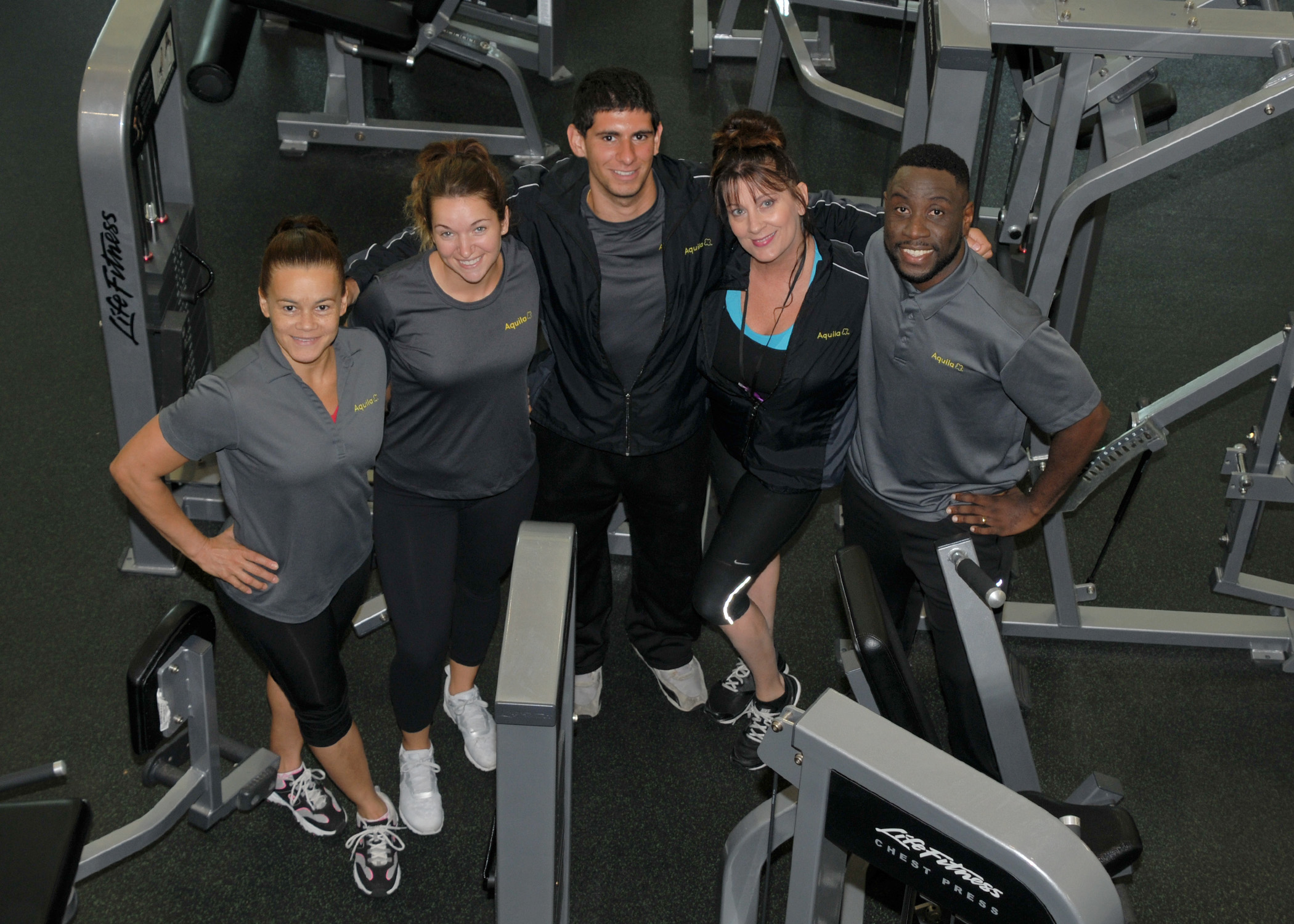 Staff at HQC Fitness Center