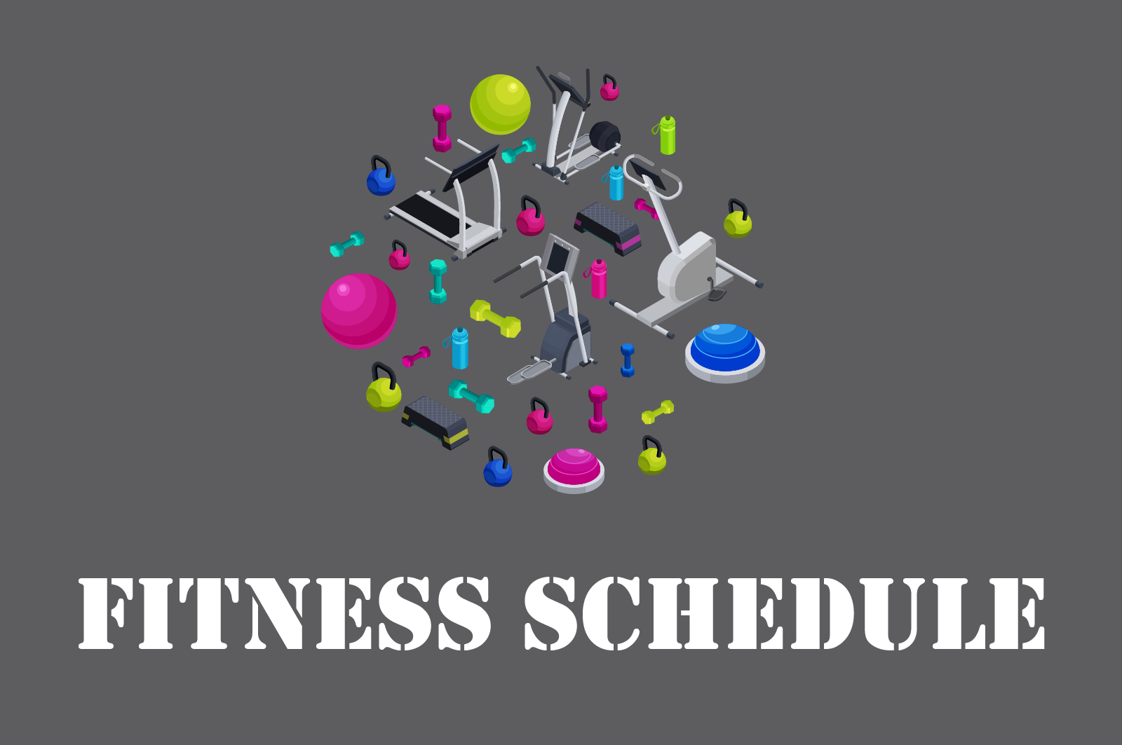 Image for HQC Fitness Schedule for Group Exercise Classes- click to open as PDF
