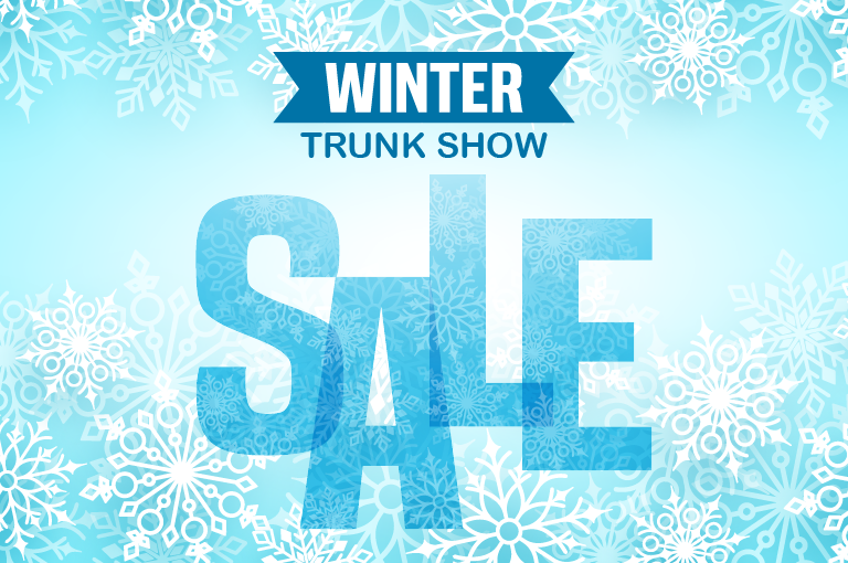 Trunk show at the HQC gift shop