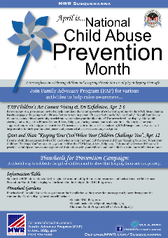 FAP Child Abuse Prevention Month Apr 18