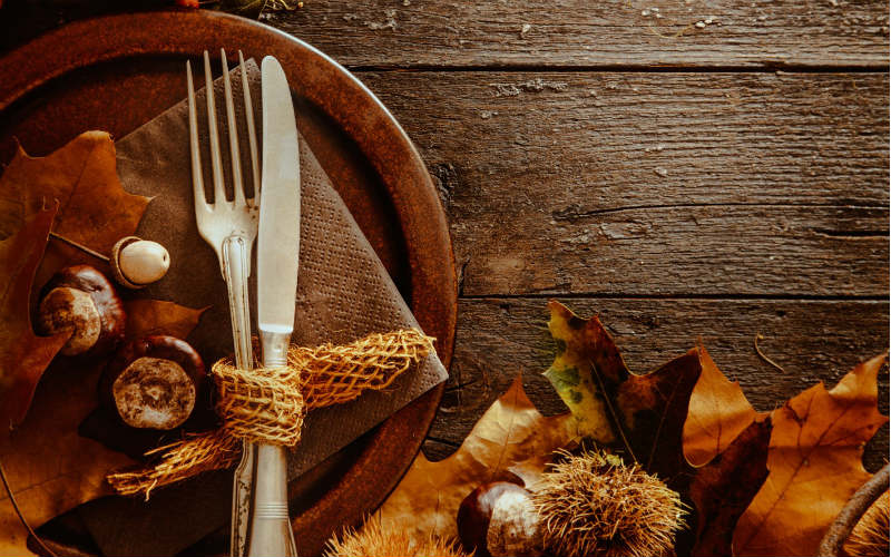 Thanksgiving Wood Pumpkin Background_800x500